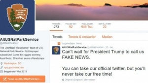 Der alternative Twitter-Account der Nationalpark-Ranger