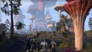 In The Elder Scrolls Morrowind abenteuern sich Spieler durch eine Pilzwelt.