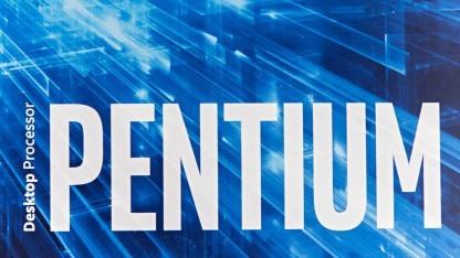 Boxed-Packung von Intels Pentium G4560