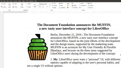 Das Muffin-Menü in Libreoffice 5.3