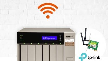 Die WirelessAP-Suite macht das Qnap-NAS zum Wlan-Access-Point.