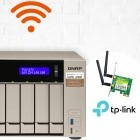 Qnap: NAS-Systeme als WLAN-Access-Point und kabelloses Backup