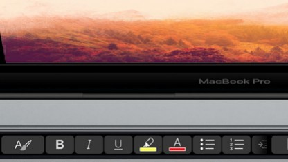 Touch Bar mit Microsoft Office für den Mac