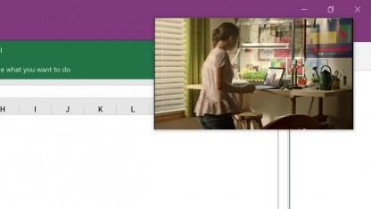Windows 10 mit Bild-in-Bild-Funktion