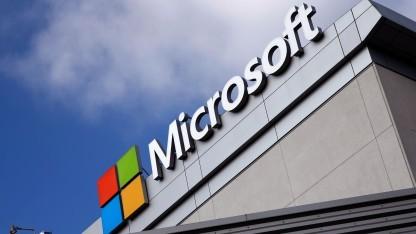 Microsoft-Gebäude in Los Angeles, Kalifornien
