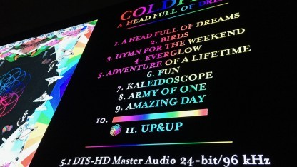 Der dedizierte 5.1-Mix von Coldplays A Headfull of Dreams spielt viel mit den Surround-Kanälen.