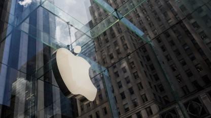 Apple wird aktuell an der Börse hoch bewertet.