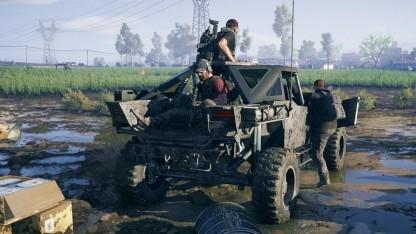 Mit dem Jeep geht es in Ghost Recon Wildlands durch Bolivien.