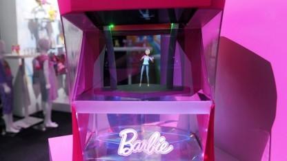 So soll das Hello-Barbie-Hologramm aussehen.