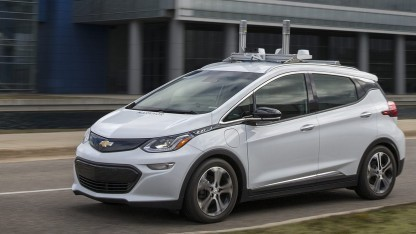 Chevy Bolt: Elektrische Kompaktklasse soll autonom fahren.