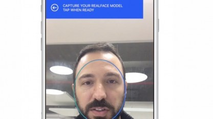 Gesichtserkennung von Realface