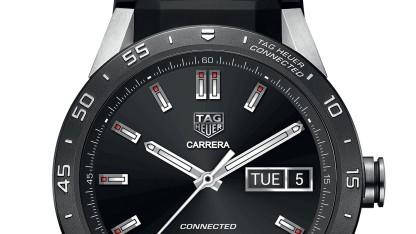 Das erste Smartwatch-Modell von Tag Heuer, die Connected Watch