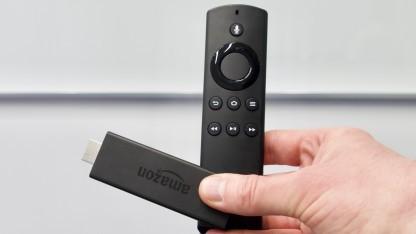 Amazons neuer Fire TV Stick beherrscht Alexa.