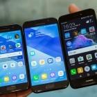 Galaxy-A-Serie vs. P8 Lite (2017): Samsungs und Huaweis Kampf um die Mittelklasse