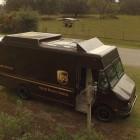 Mobiler Startplatz: UPS-Lieferwagen liefert mit Drohne Pakete aus