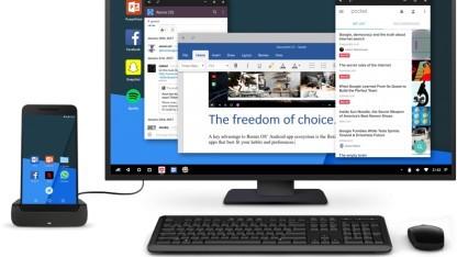 Remix OS mit dem im Februar 2017 vorgestelltem Singularity-Modus