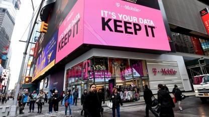Werbung von T-Mobile