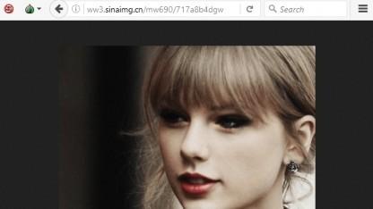 Der mit dem Trojaner ausgelieferte Keylogger wird über ein Taylor-Swift-Bild verbreitet.