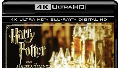Die 4K-Discs von Harry Potter bieten zusätzlich zu HDR10 auch Dolby Vision.