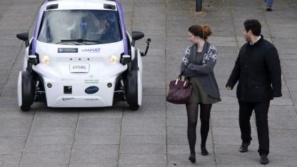Großbritannien testet autonome Autos in Milton Keynes.