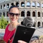 Aufsteckbar: Kugelkamera für Android-Smartphones filmt 360-Grad-Videos