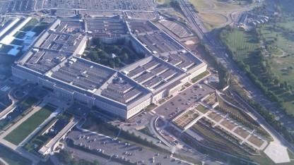 Das Pentagon, der Sitz des Department of Defense (DoD)