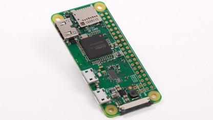 Raspberry Pi Zero W: Zero bekommt WLAN und Bluetooth - Golem de