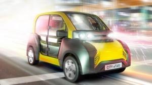 City E-Taxi: Gegenpol zu heutigen Fahrzeugkonzepten