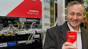 Eröffnung des Vodafone IoT Future Labs mit Vodafone-Deutschland-Chef Hannes Ametsreiter