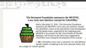 Das Muffin-Menü in Libreoffice 5.3