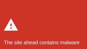 Eine mit Malware verseuchte Webseite - eine Meldung, die kein Webmaster gerne sieht.