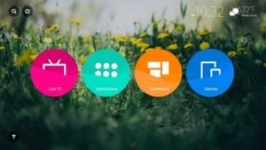 Firefox OS auf einem Smart TV