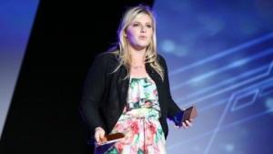 Ubeam-Chefin Meredith Perry (2015): Vorführung nicht für die Öffentlichkeit bestimmt