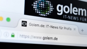 Golem.de kommt jetzt per HTTPS.