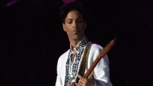 Prince auf dem Coachella Festival 2008