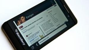 Das Blackberry Z10.