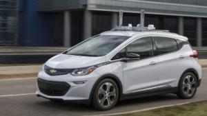 Chevy Bolt: Elektrische Kompaktklasse kann nach Umbauten autonom fahren.