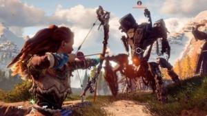 Horizon Zero Dawn schickt Aloy in Gefechte mit Roboterwesen