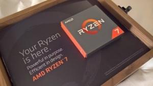 Unser Testmuster des Ryzen 7 1800X