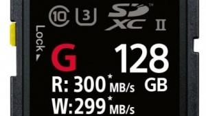 Sonys neue SF-G-Serie gibt es mit bis zu 128 GByte.