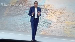 Der Nokia-Chef spricht in Barcelona.