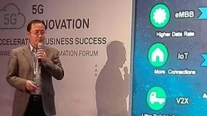 Auf dem Huawei Forum in Barcelona