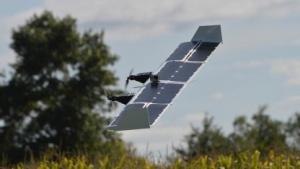 Senkrechtstarter-Drohne