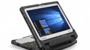 Das Toughbook CF-33 bietet ein abnehmbares Tablet.