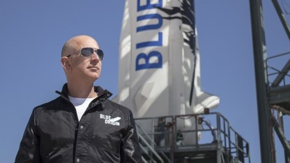 Blue-Origin-Chef Jeff Bezos: Die Nasa erwägt eine Mondumrundung 2019.