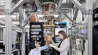 Quantencomputer von IBM: kommerzielle Quantenrechner mit rund 50 Qubits
