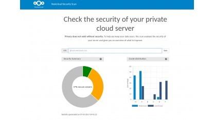 Nextcloud Private Cloud Security Scanner hilft beim Härten von Cloud-Servern.