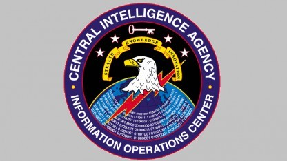 Der CIA-Adler behält im Hackerchaos den Überblick.