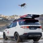Rotes Kreuz Österreich: Land Rover mit dachmontierter Drohne für Rettungsdienste