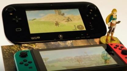 Zelda Breath of the Wild auf der Wii U und Switch und Zelda Amiibo